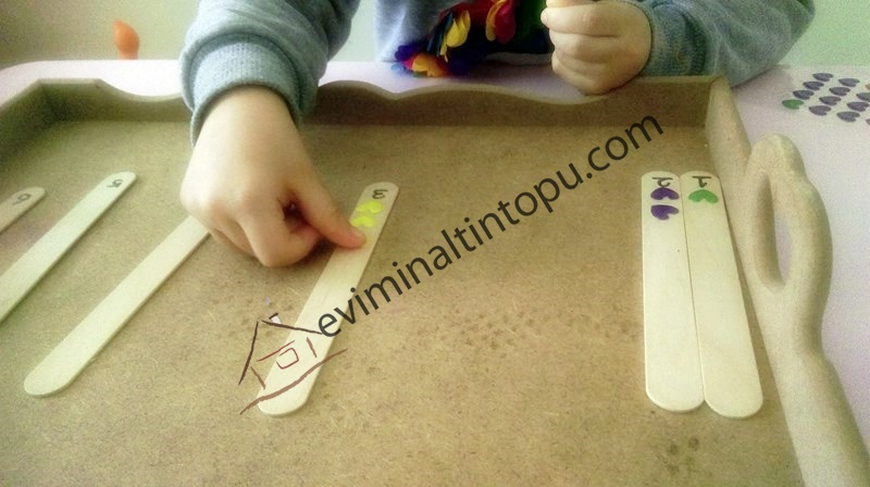 sticker ve dil çubukları ile tane hesabı (4)