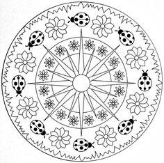 Photo of Uğurböceği mandala örnekleri