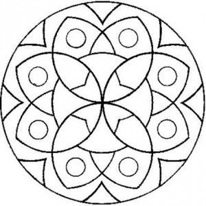 Uğurböceği Mandala örnekleri Evimin Altın Topu