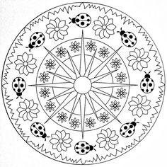 Ugurbocegi Mandala Ornekleri Evimin Altin Topu