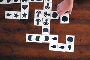 çıktı alınabilir domino kartları