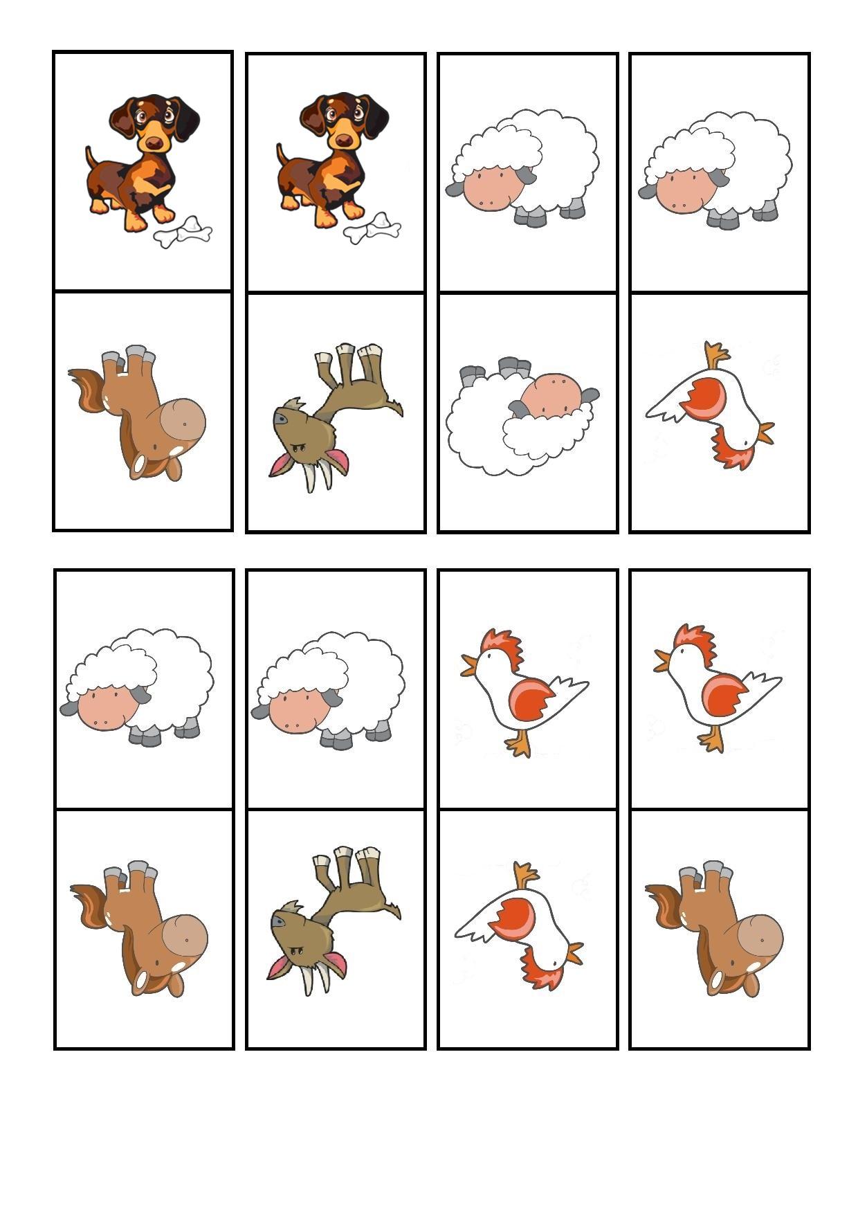 çiftlik hayvanları domino oyunu (3)