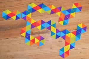 üçgenler ile domino
