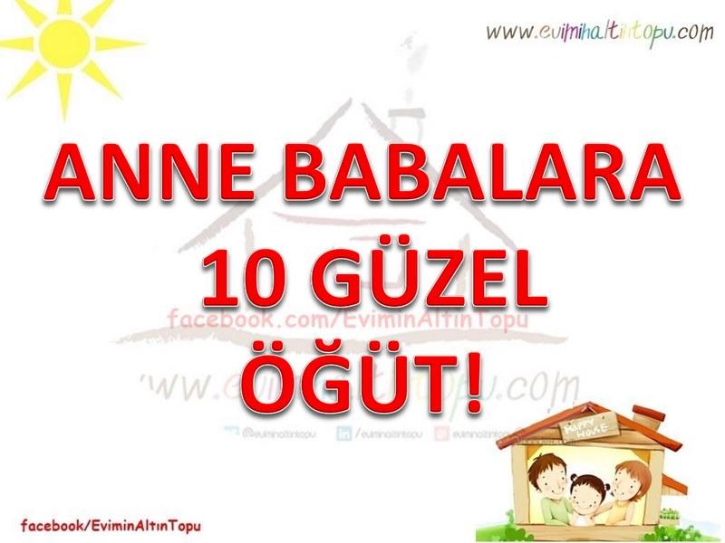 Photo of Anne Babalara 10 Güzel Öğüt