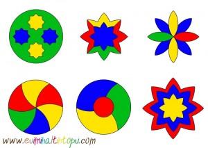 boyayarak aynısını oluştur örüntü çalışması (2)