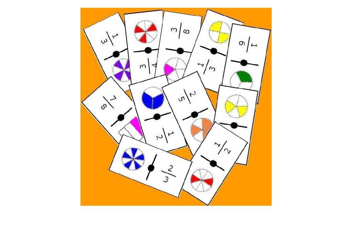 Photo of Kesirler ve Sayılar Domino Kartları