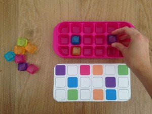 renkli buz küpleri ile yapılabilecek etkinlik örnekleri (2)