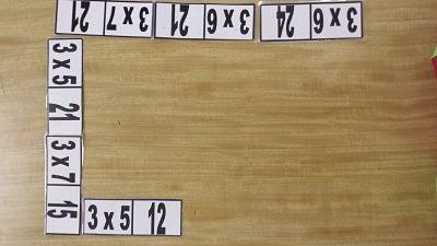 sayılar dominosu