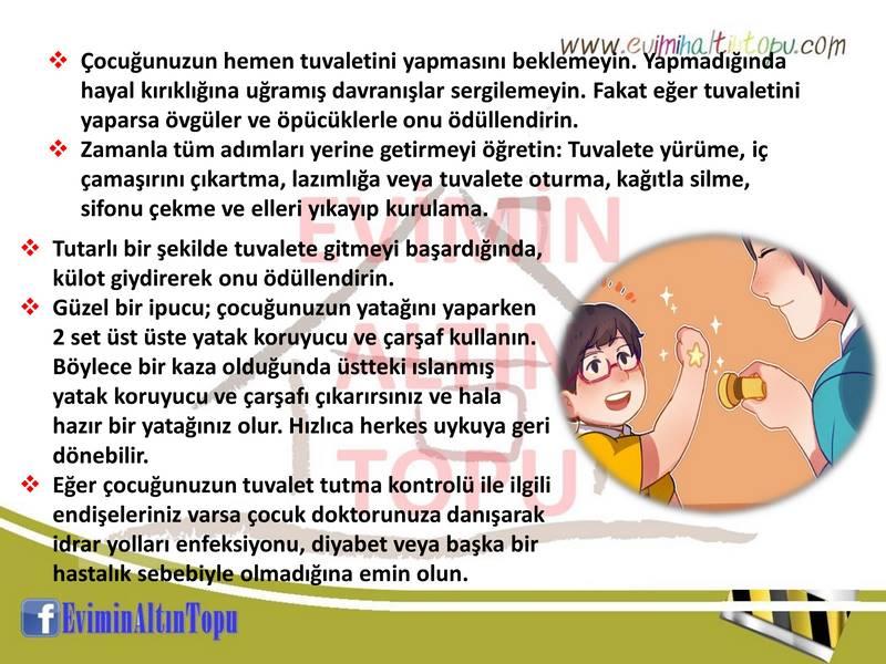 çocuklara tuvalet eğitimi nasıl verilir