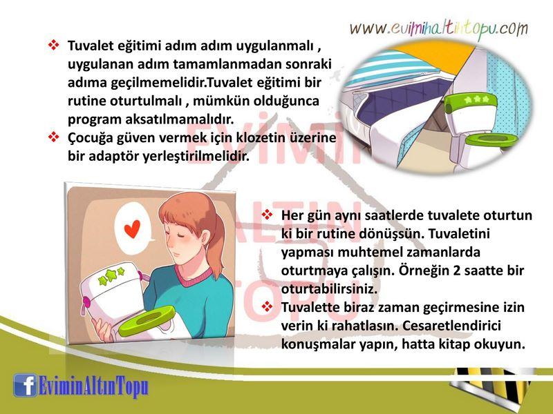 çocuklara tuvalet eğitimi verirken nelere dikkat etmek gerekir
