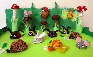 ceviz kabuğu ile sanat etkinlikleri (3)