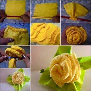 grafon kağıdından çiçek (kalıpları ve yapım aşamasıyla) (5)