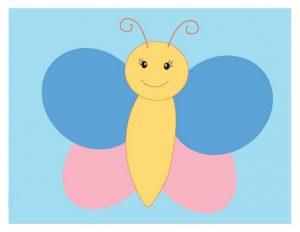 kelebek oyun hamuru matı