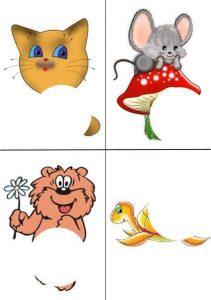 okul öncesi hayvanlar ile resim tamamlama  (1)