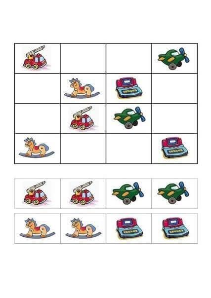 oyuncaklar sudoku sayfası