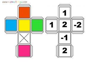 uğurböceği ile sayı ve renk etkinlikleri