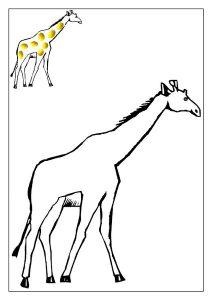 zürafa oyun hamuru matı