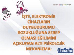 çocuk gelişiminde tabletler ve akıllı telefonların etkisi