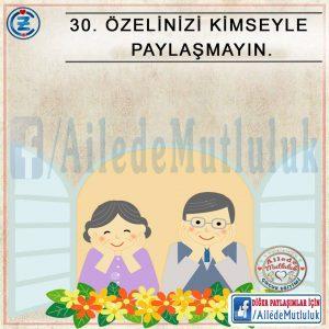 uzun ömürlü evlilkler için (3)