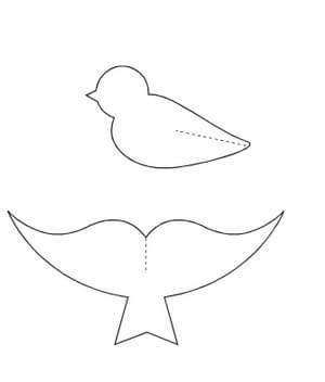 Kuş Sanat Etkinlikleri Okul öncesi Kuş Sanat çalışmaları Evimin