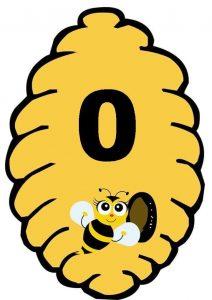 arı kovanı sayı kartı