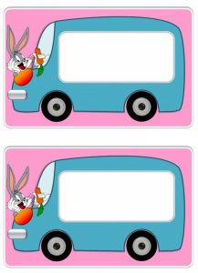 bugs bunny yakakartları