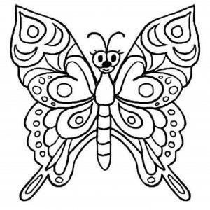 kelebek boyama