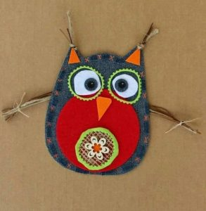 owl jeans craft