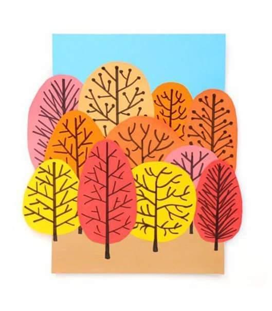 Photo of Kağıttan Sonbahar Ağaç Yapımı