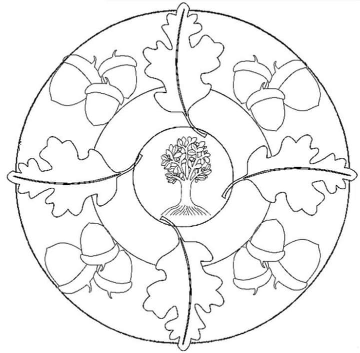 Sonbahar Mevsimi Mandala Etkinlikleri Harika Mandala Calismalari