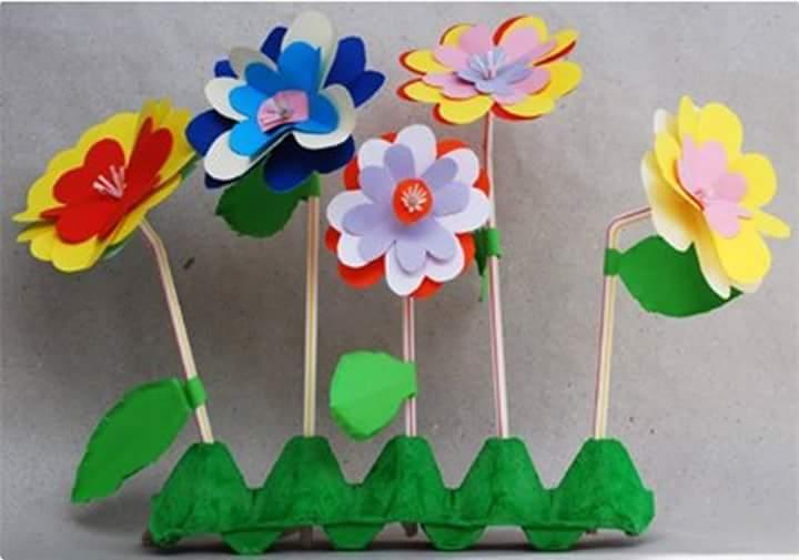Photo of Eğlenceli Çiçek Sanat Etkinlikleri
