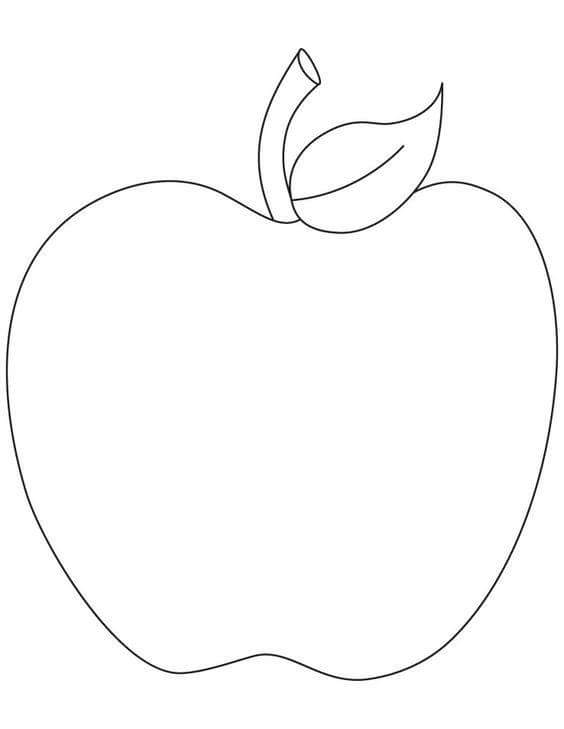 Pictures Of Bitten Apple Drawing Outline Kidskunstinfo