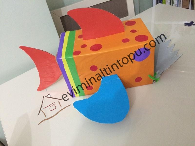 Photo of Kartondan Balık Yapımı