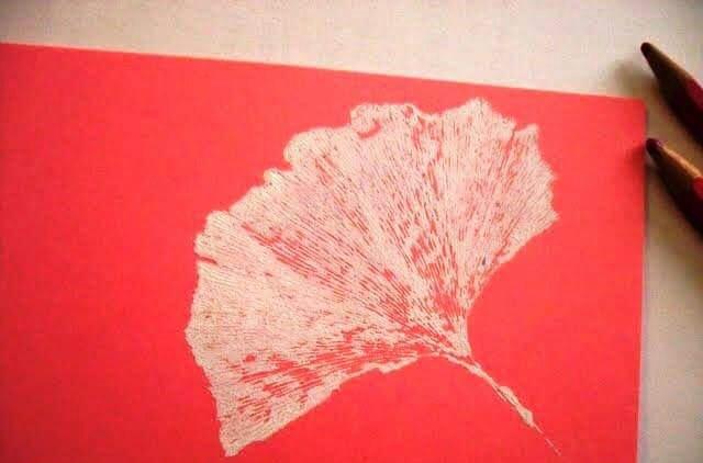 yapraklar ile ilgili sanat ana sınıfı