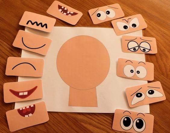 çocuklar için yüz ifadeleri