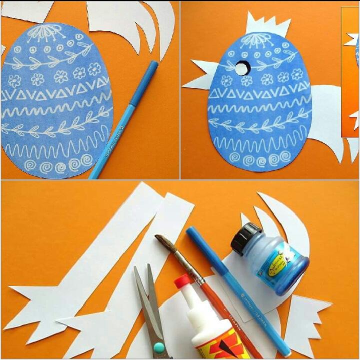 Photo of Fon Kağıttan Yumurta Yapımı