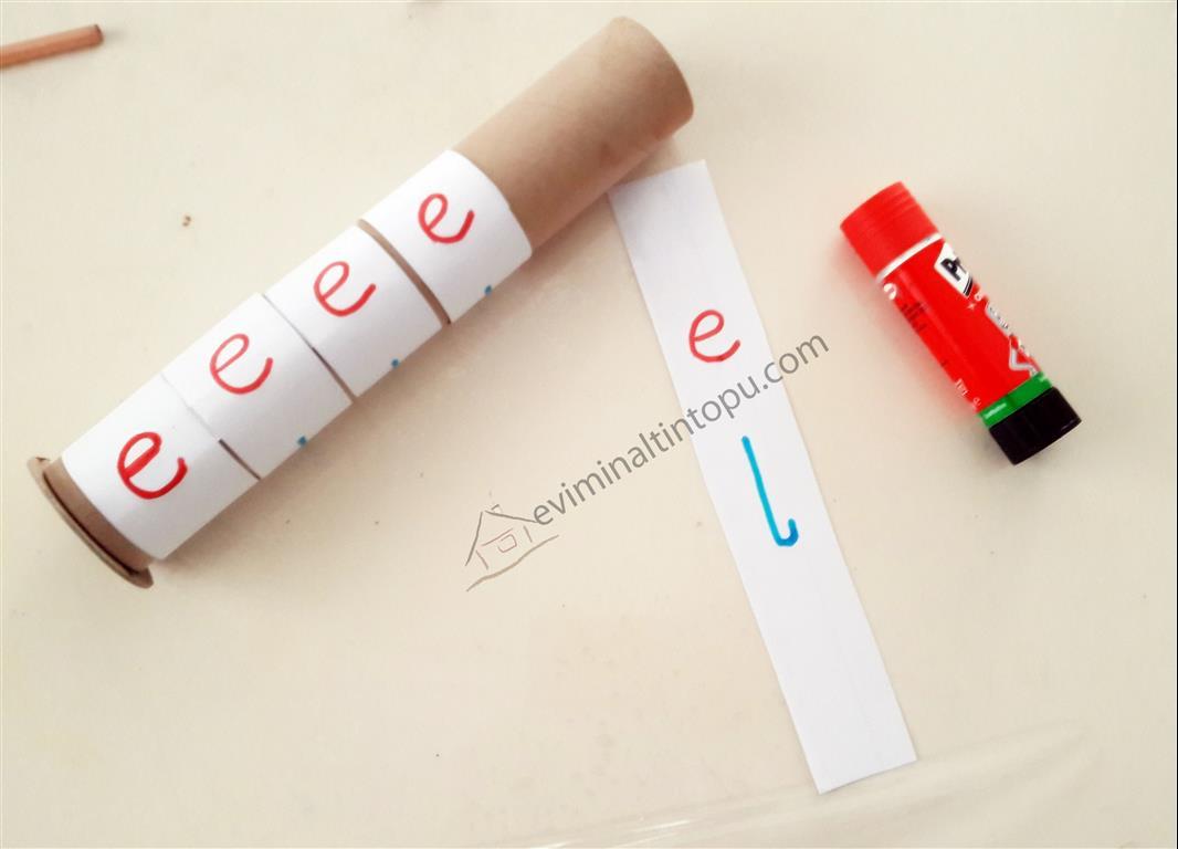 Photo of E ve L Sesi Pekiştirme Çalışması