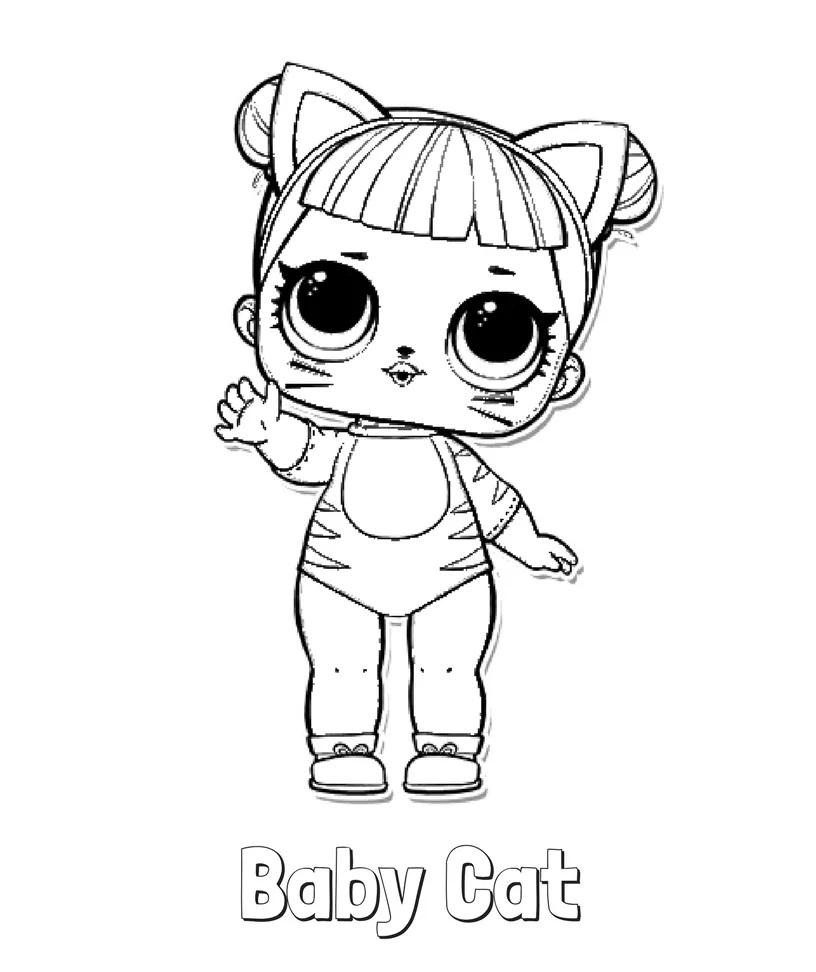 lol bebek boyama sayfası