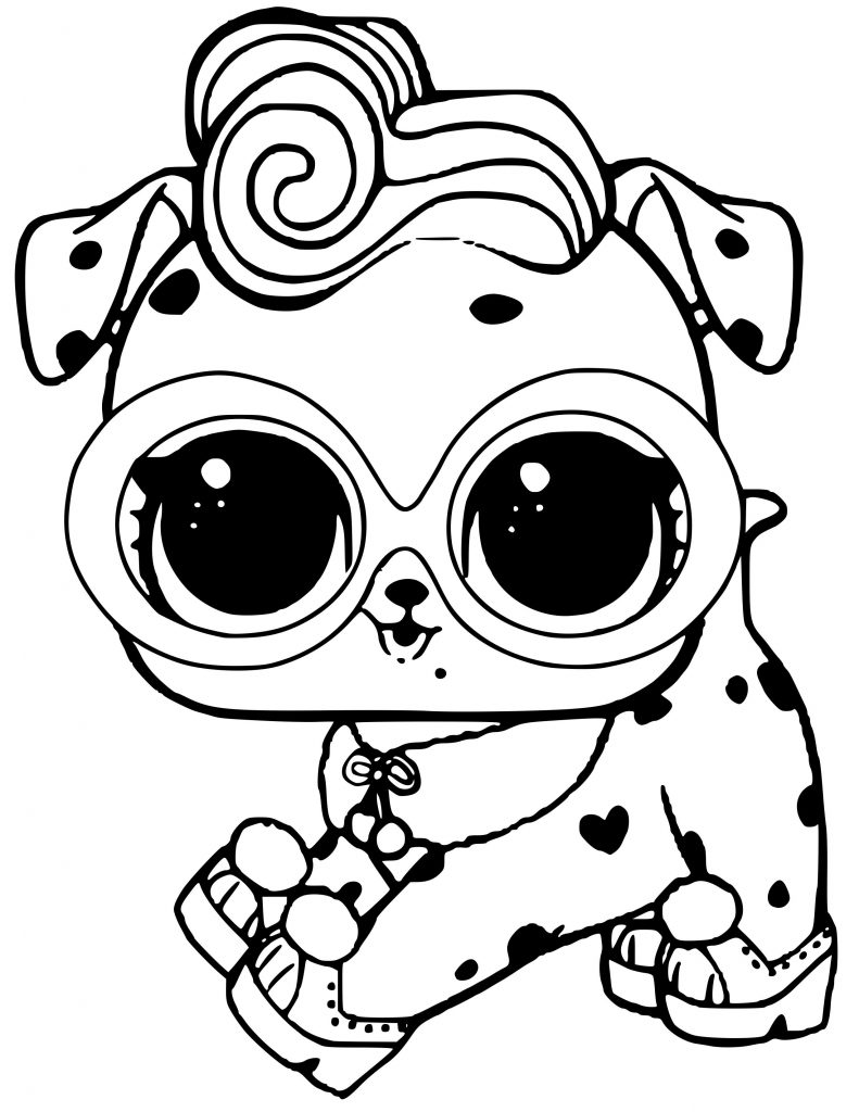Coloring Pages Lol Biggie Pets Printable 47 52 49 Coloring