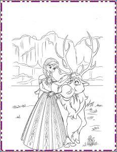 Ulkesi Frozen Elsa Boyama Sayfasy Resim Cizmek